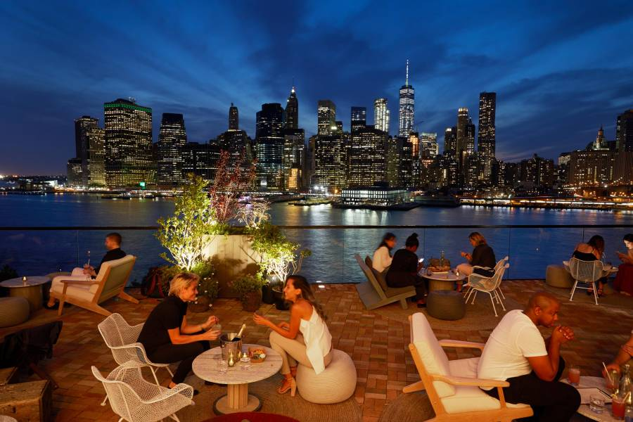 Hotels In New York City >> Rooftop Hotels Nyc Best Rooftops In New York City