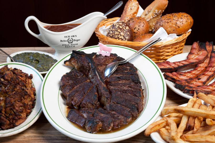 Peter Luger Steakhouse, Steak