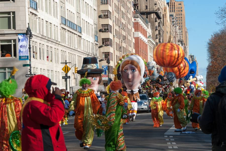 Macy's Thanksgiving Day Parade New York City